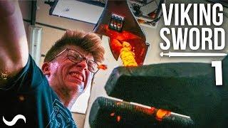 MAKING A VIKING SWORD!!! Part 1