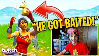 """Ninja Reacts to """"Tfue wants this Pro Player BANNED!"""" (Twitch Moments Fortnite Reaction)"""