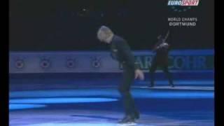 Evgeni Plushenko & Edvin Marton @ 2004 World Championship in Dortmund - Beethoven