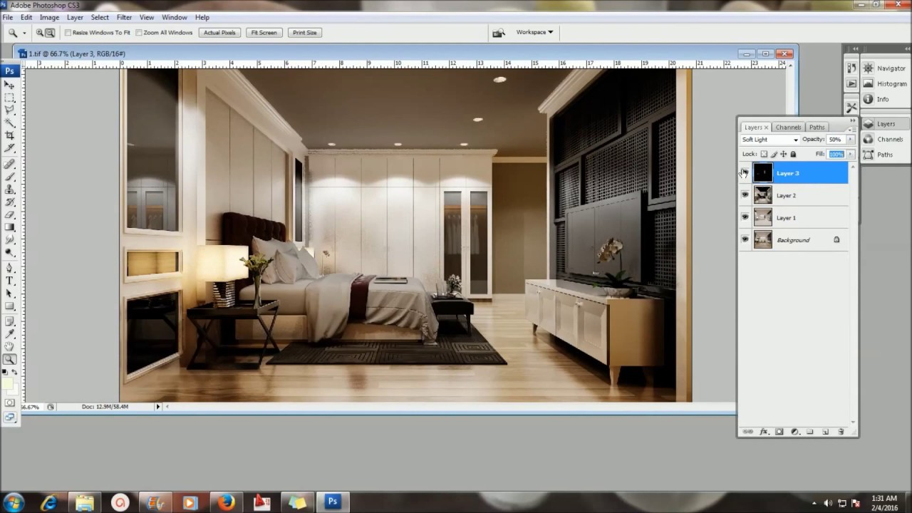 3d Effect Live Wallpaper Vray Sketchup Tutorial Render Element Youtube