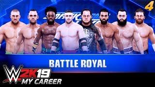 WWE 2K19 MY CAREER | #04 - Debiut na Smackdown!