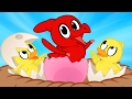 Dinosaur Duckling Morphle  The Ugly Duckling Fairy Tale Cartoon for Kids
