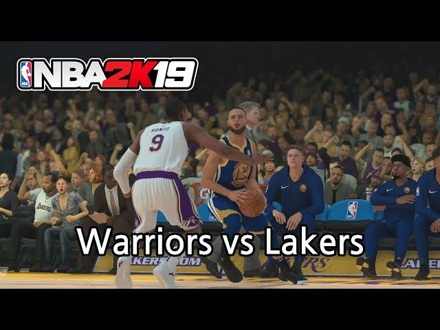 3bcadb3038c2  NBA 2K19  Golden State Warriors vs Los Angeles Lakers – Los Angeles Video