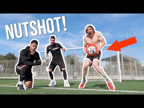 Thumbnail: I TOOK A SOCCER BALL TO THE... (worst pain ever) Feat. F2 Freestylers!