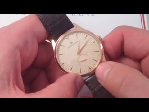 Jaeger-LeCoultre Master Ultra Thin Reserve de Marche Luxury Watch Review