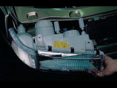 ФАРЫ. Разборка, замена ламп. ВАЗ 2110-2112.