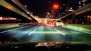 ドライブマン 1080 首都高 王子北から杉田 4倍速 レクサス GS