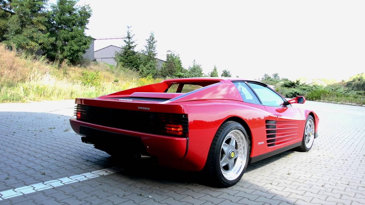Ferrari testarossa 1991 49 v12 exhaust sound watchthiscar youtube ferrari testarossa 1991 49 v12 exhaust sound watchthiscar vanachro Images