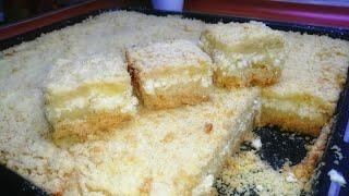 Пирог Творожный Даже крошечки не останется Простой рецепт для большой семьи Узбечка готовит