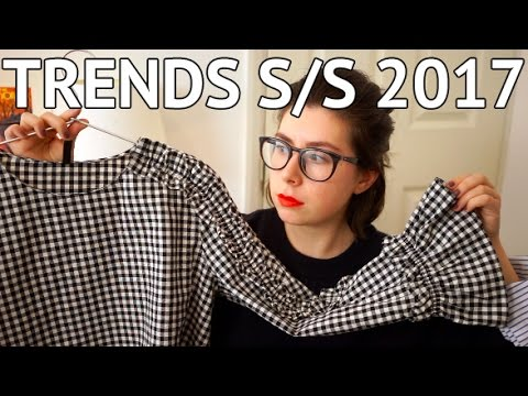 TOP TRENDS FOR SPRING/SUMMER 2017 - 동영상