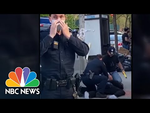 Video Captures New York City Police Officer Brandishing Stun Gun, Slapping Man | NBC News