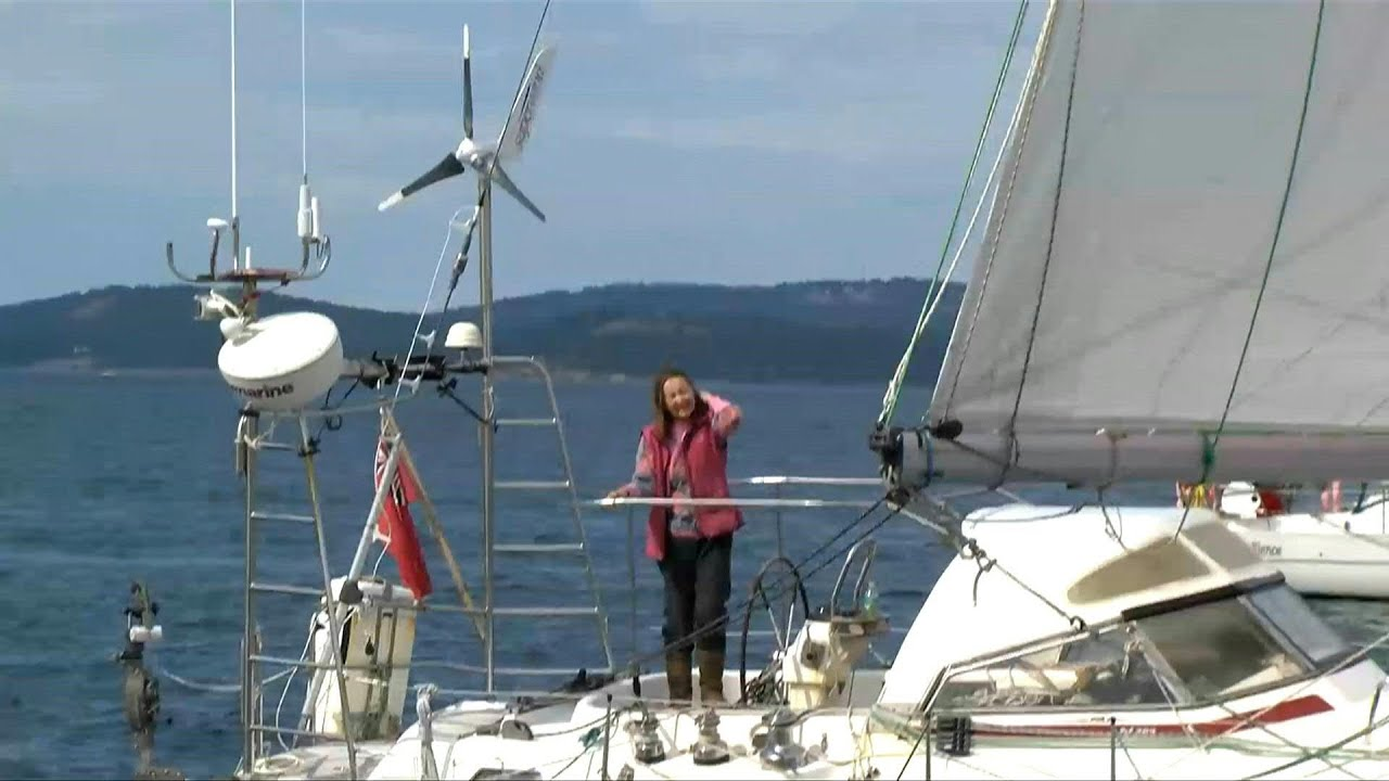 British woman achieves solo sailing record at 77 | AFP