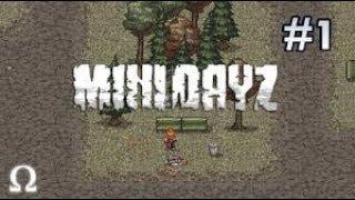 игра Мini DAYZ #1 (прошли обучение).