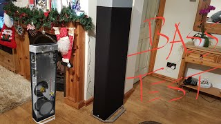 Subwoofer Bass test Definitive Technology BP9080x 12