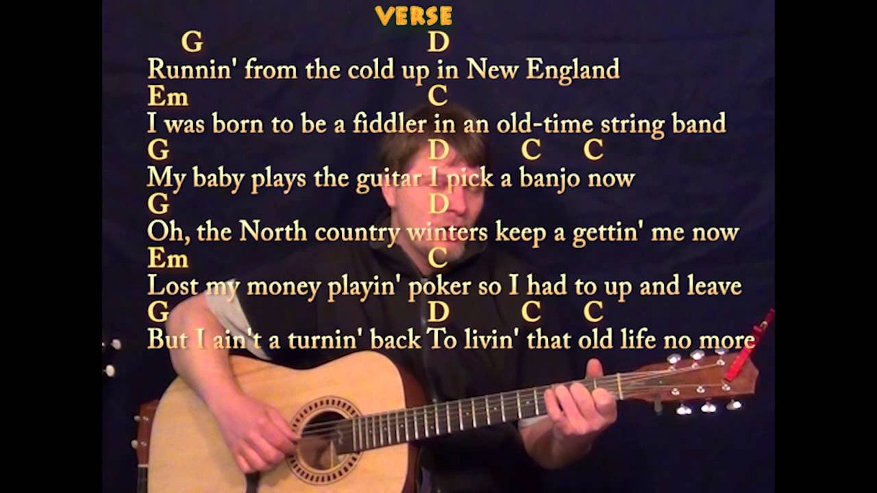 wagon wheel fingerstyle guitar gdemc cover lesson with lyrics youtube. Black Bedroom Furniture Sets. Home Design Ideas