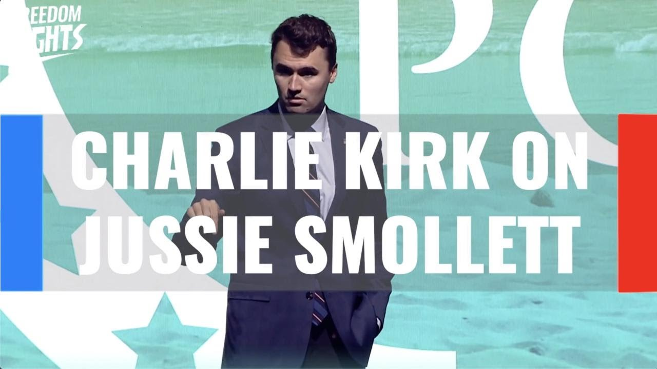 Download Charlie Kirk: How many people died because Jussie Smollett lied?