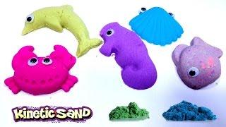 Mainan PASIR AJAIB 💖 KINETIC / MAGIC SAND Membuat Binatang Laut 💖 Let's Play 💖 Jessica 💖