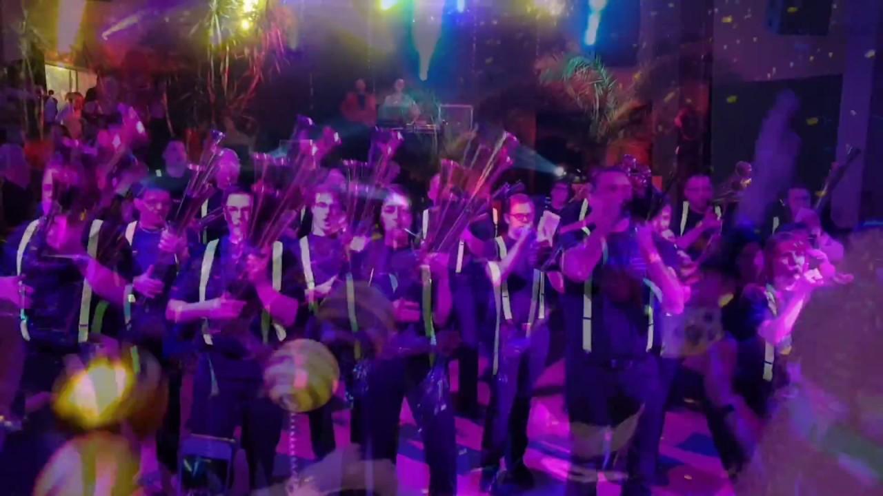 Rosenmontagsparty Parkschänke Limbach Oberfrohna Februar 2017 - YouTube