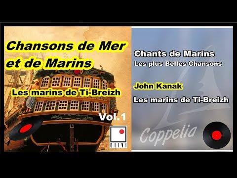 CHANSONS DE BRETAGNE, DE MER ET DE MARINS VOL.1 - COPPELIA OLIVI