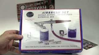 CLINIC:  Paasche H Set (What is The Right Airbrush for You? Series)