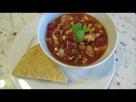 Slow Cooker Mexican Chicken Chili Recipe