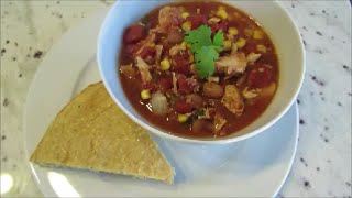Jen's Slow Cooker Chicken Chili Recipe (Mexican Inspired)
