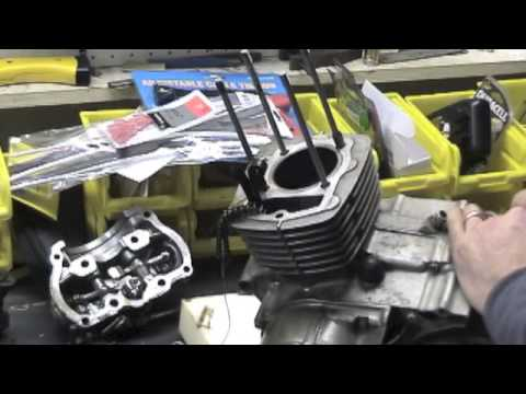 Motorcycle engine teardown HONDA XR 200 - YouTube