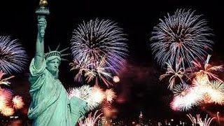Full Fireworks 4 Barges NYC Front Row By NBC Best View - 4th of July Macy's 2016 Firework Full Show