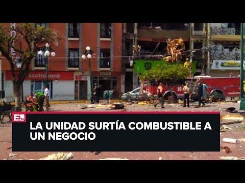 Explosi�n de pipa de gas en Jalisco deja dos muertos y varios heridos