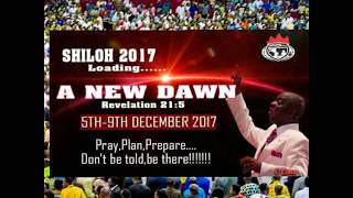 Shiloh 2017 A New Dawn Rev. 21: 5