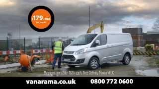 The 2nd Vanarama Van Leasing TV Advert (Ford Transit Custom) - 2014