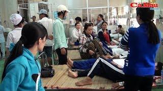 Cà Mau: Nhiều học sinh ngất xỉu do ngậm nước súc miệng Fluor