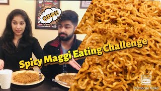 Spicy Maggi Eating Challenge ft. My Twin Brother | TheGroovyPants