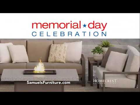 Samuels Furniture Memorial Day Celebration   Duration: 31 Seconds.