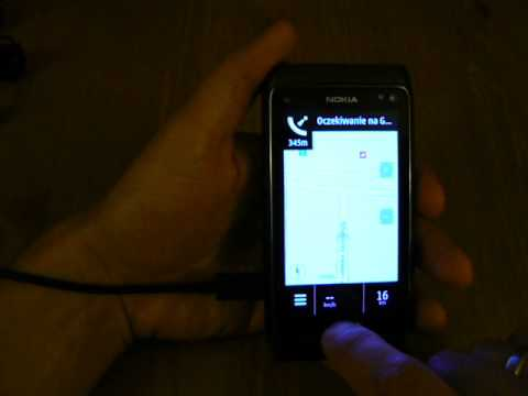 NOKIA N8 SYMBIAN - GPS, Nokia Maps, NAVIGATION, NAVIGATION CAR, WALKING, routing