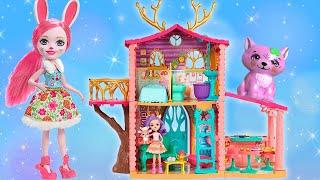 Играем с домиком для детей | Playhouse and Toys