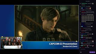 Resident Evil 2 Remake (PS4) - E3 2018 Demo Playthrough