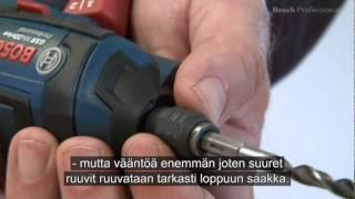 Bosch Screwdriver GSR Mx2Drive Finnish
