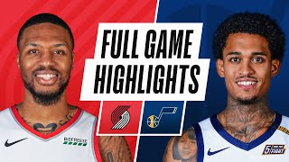 Download TRAIL BLAZERS at JAZZ | FULL GAME HIGHLIGHTS | May 12, 2021