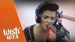 """KZ Tandingan covers """"Rolling in the Deep"""" (Adele) LIVE on Wish 107.5 Bus"""