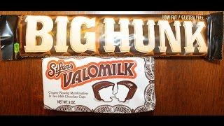 Big Hunk Honey Sweetened Nougat & Sifers Valomilk Candy Cups Review