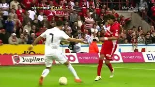 Cristiano Ronaldo skills vs standard liege