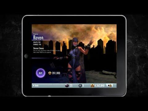Injustice: Gods Among Us Mobile Game - Raven Challenge