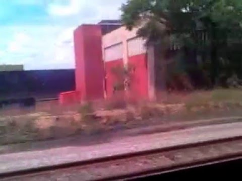 Arriving in Milwaukee Intermodal Station