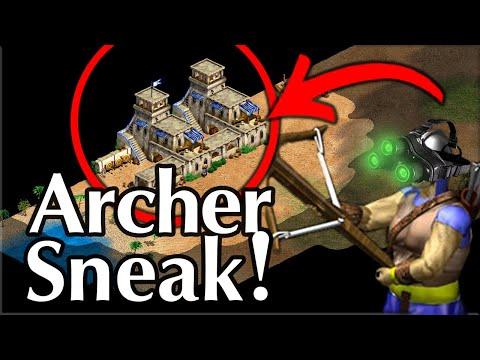 Archer Sneak! Be Careful...