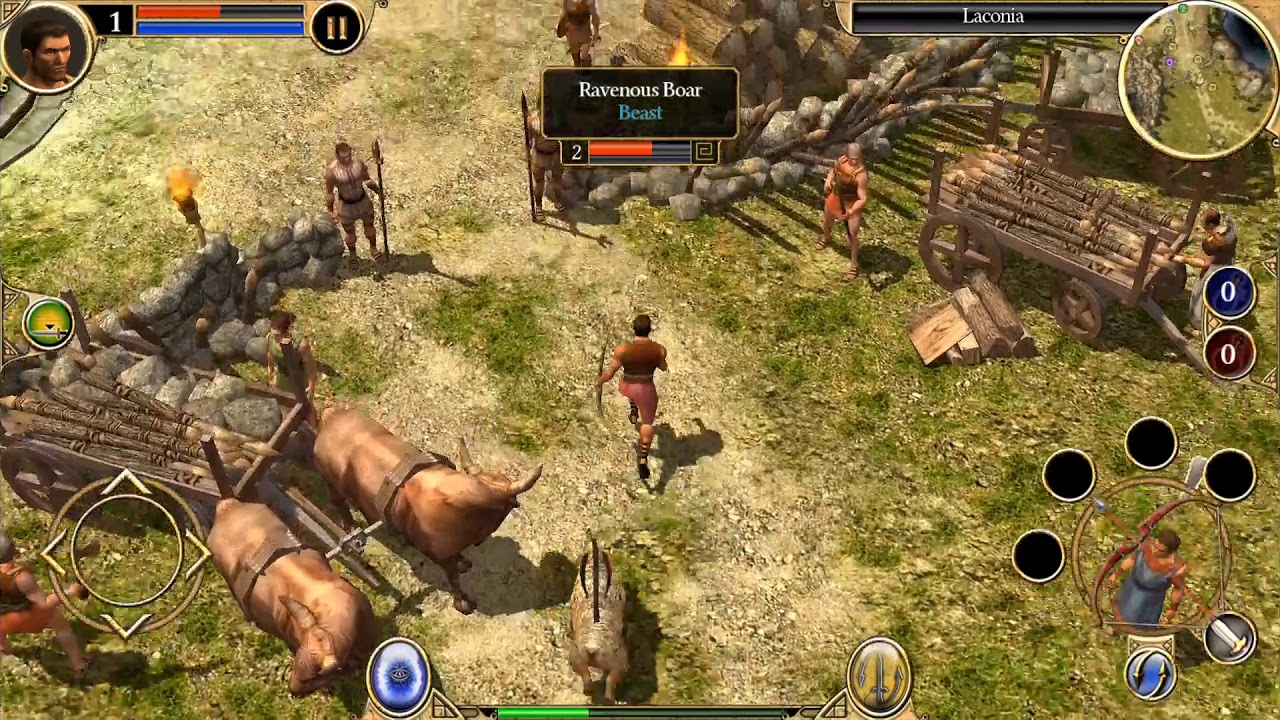Titan Quest - Android/iOS Gameplay Walkthrough Ep 1