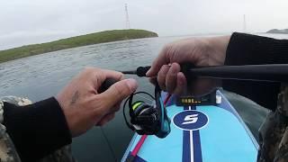 Ловля камбалы Морская рыбалка с сапа