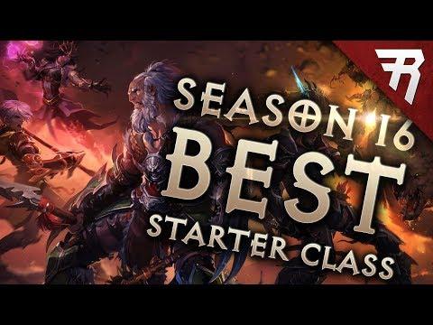 Diablo 3 Season 16 Best Starter Builds & Class