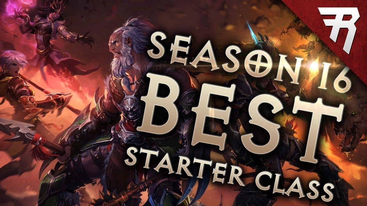 Diablo 3 Best Class 2019 Diablo 3 Season 16 Best Starter Builds & Class   YouTube