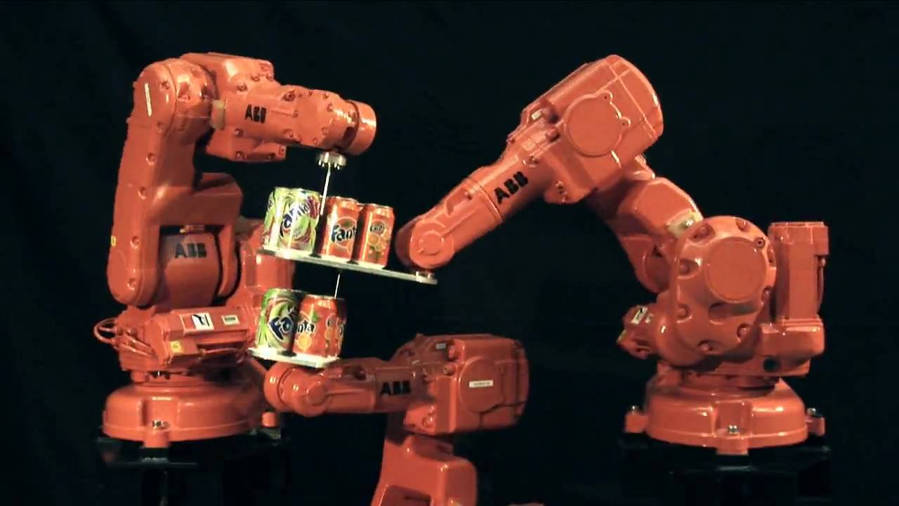ABB Robotics - Fanta Can Challenge- Level II - Superior Motion Control